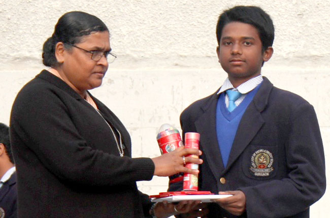 Faber Castell Calendar Art Competition : Our lady of fatima convent sec school gurgaon